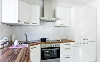 Встроенная бытовая техника в интерьере кухни