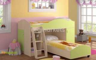 Детская двухъярусная кровать