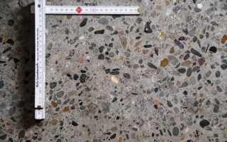 Тяжелый бетон: плотность, марки, свойства, состав
