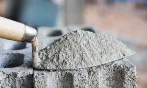 Быстротвердеющий цемент: виды и применение