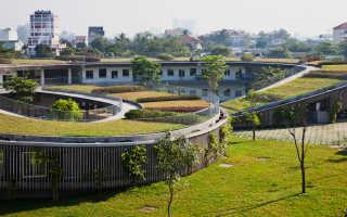 Фасад детского сада во Вьетнаме