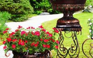 Садовые кованые светильники в ландшафтном дизайне