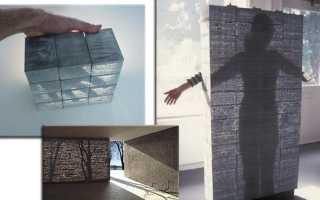 Прозрачный бетон: сфера применения