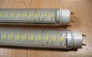 Светодиодные лампы и их преимущество