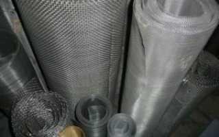 Сетка нержавеющая фильтровая для скважины