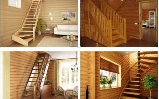 Деревянные лестницы и марши