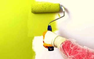 Способы декорирования стен валиком