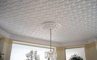 Какой выбрать потолок?