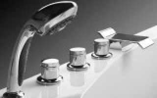 Смеситель для ванной и душа – выбор и установка