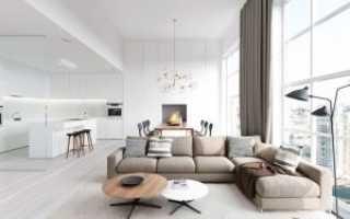 Полный минимализм в квартире