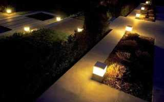 Солнечные садовые светильники
