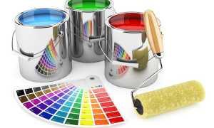 Типы краски
