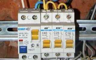 Диагностика причин отключения автоматического выключателя в силовом электрощите