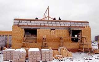 Строительство в зимнее время