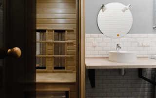 Визуально увеличить пространство в ванной