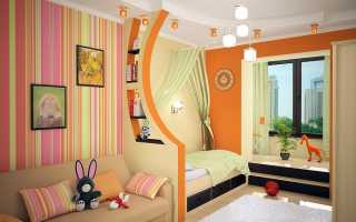 Обустройство детской комнаты для ребенка