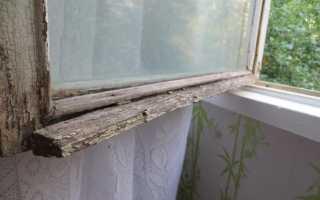 Как покрасить окна деревянные