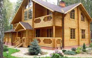 Энергосберегающий деревянный дом