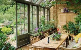 Светопрозрачные конструкции для зимнего сада