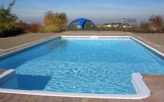 Как сделать бассейн из бетона