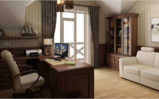 Личный кабинет в загородном доме