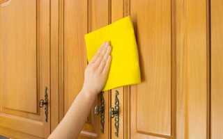 Как удалить пятна на дверях