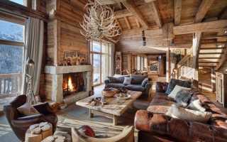 Интерьер в стиле шале – добротный деревенский шарм и уют