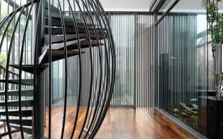 Винтовая лестница деталь интерьера