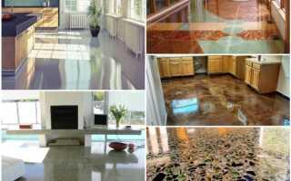 Полировать шлифовать бетонный пол