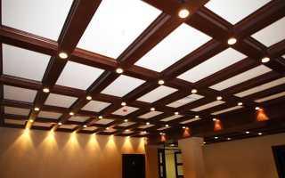 Материалы используемые для отделки потолков