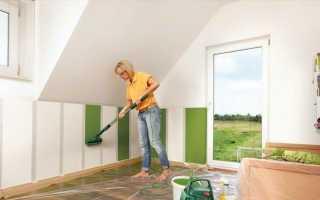 Окрашивание стен водоэмульсионной краской
