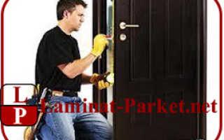 Дверные блоки – рекомендации по установке и хранению