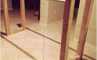 Как сделать брусья дома