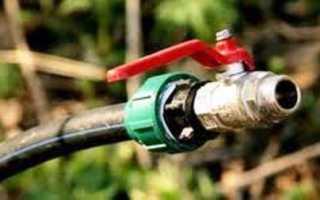 Монтаж водопровода низким давлением из труб ПНД