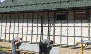 Работы по утеплению фасадов