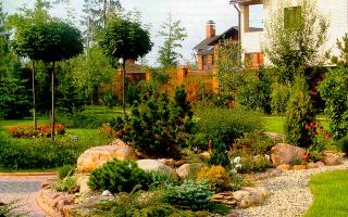 Ландшафтный дизайн тайного сада по фен-шую