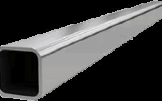 Металлическая труба квадрат