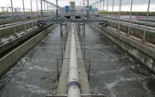 Очистные сооружения сточных вод и их виды